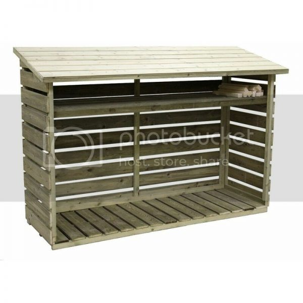 7x2 Empire Log Store - natural