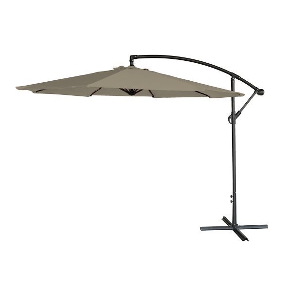 Airwave 3m Banana Hanging Parasol (base not included) - Beige