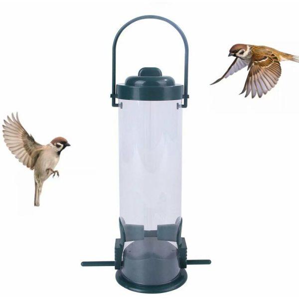 Bird feeder Food distributor for birds, bird food distributor, ecological feeder for wild birds in PVC