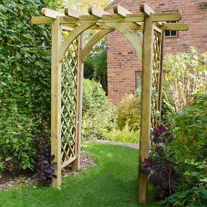 Forest Garden Arch Pergola (H)2450mm (W)1820mm
