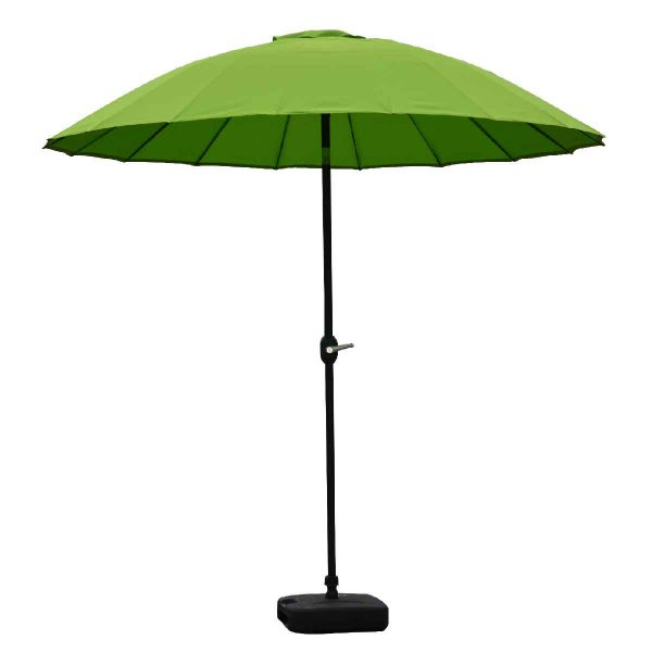 Garden Must Haves Blossom 2.5m Oriental Parasol (base not included) - Lime