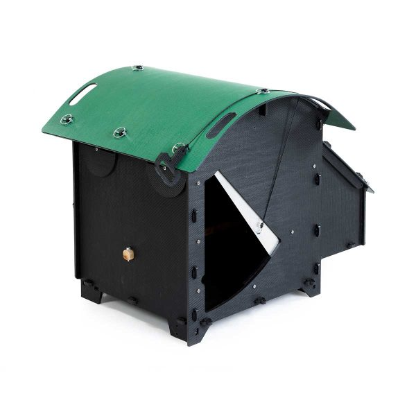 Green Frog Designs Small Chicken Coop - Green