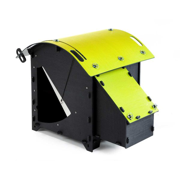 Green Frog Designs Small Chicken Coop - Yellow