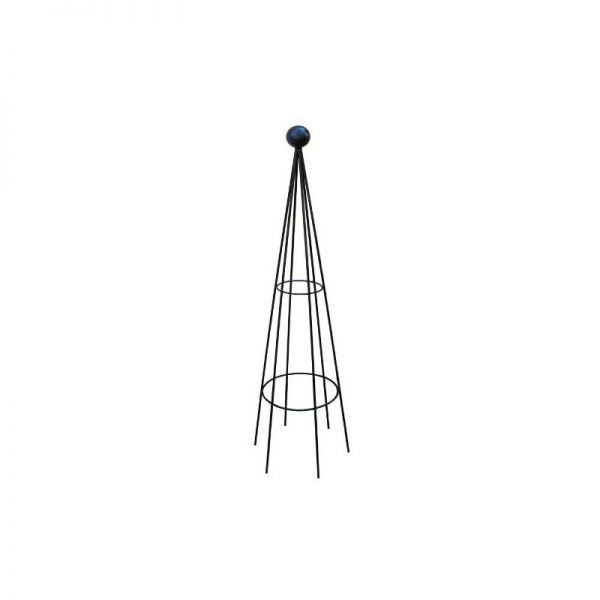 Hampton 8ft Obelisk (Split) Bare Metal/Ready to Rust