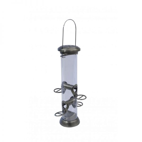 Heritage Collection Seed Bird Feeder (One Size) (Antique Gold) - Henry Bell