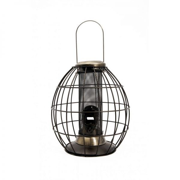 Heritage Collection Squirrel Proof Peanut Bird Feeder (One Size) (Antique Gold) - Henry Bell
