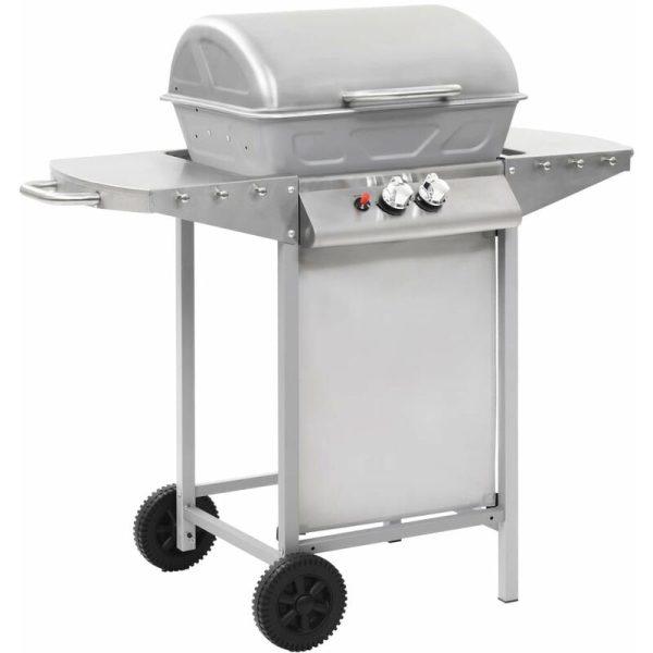 Manervia Portable Gas Barbecue by Silver - Dakota Fields