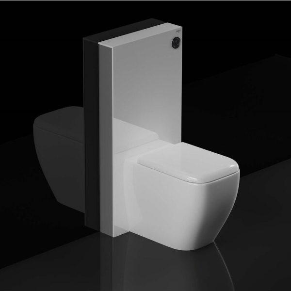 RAK Obelisk Cistern Cabinet for Back to Wall Toilet Pan - White