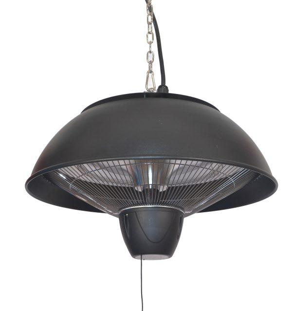 1.5kW IP34 Infrared Hanging Patio Heater inn Black by Heatlab®