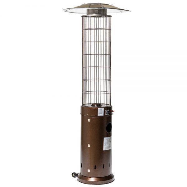 13kW Circle Flame Gas Patio Heater in Brown by Heatlab®