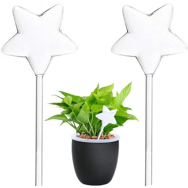 2PCS Plastic Automatic Plant Watering Devices?Automatic Drip Watering Bulbs,Irrigation Kits Material?Bottle Self-Irrigating Watering