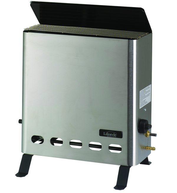 4.2KW Eden Pro Stainless Steel Gas Greenhouse Heater