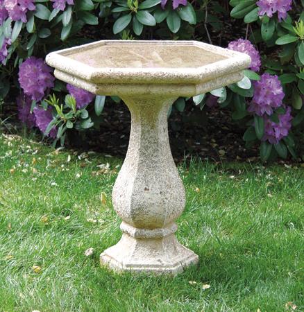 66cm Massarelli Chelsea Hexagon Bird Bath