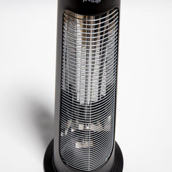 900W IPX4 Streamline Rotating Patio Heater with 2 Power Settings by Heatlab®