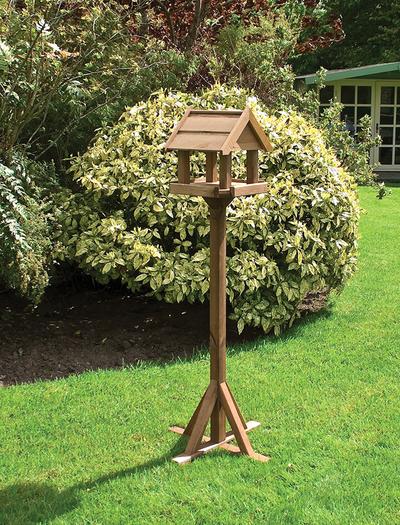 Bisley Wooden Bird Table FSC® by Rowlinson®