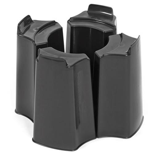 Black 4 Piece Water Butt Stand
