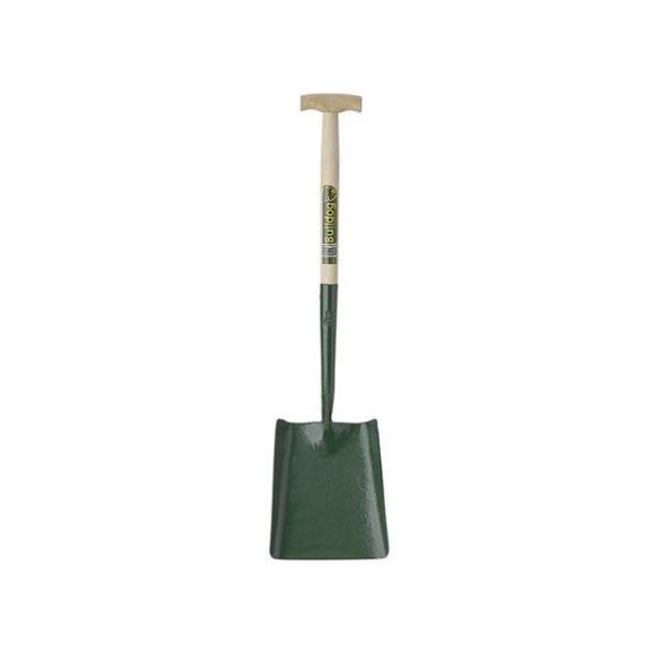 Bulldog Solid Socket Square Shovel T-Handle