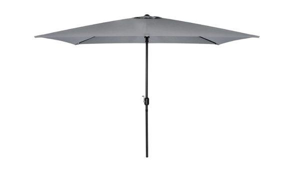 Crank & Tilt Parasol in Grey 2.5m