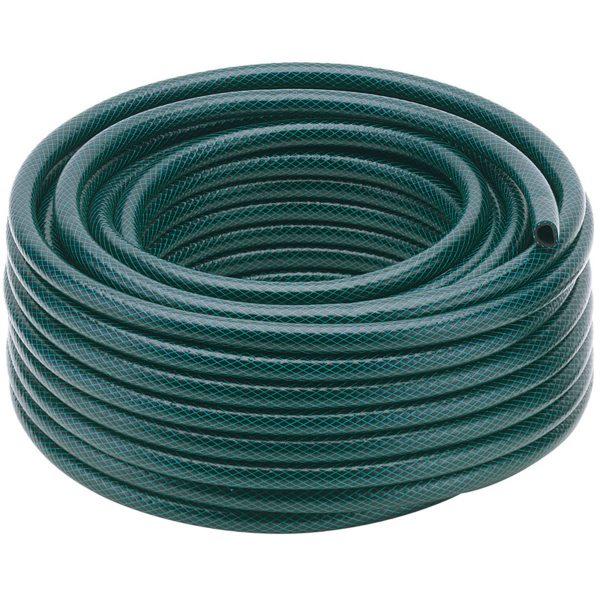 Draper 12mm Bore Green Watering Hose - 30m