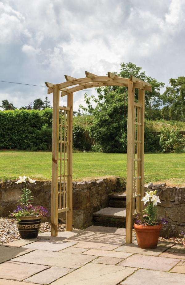 Zest 4 Leisure 2.1m (6ft 10in) Moonlight Garden Arch