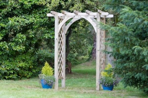 Zest 4 Leisure 2.2m (7ft 2in) Horizon Trellis Garden Arch