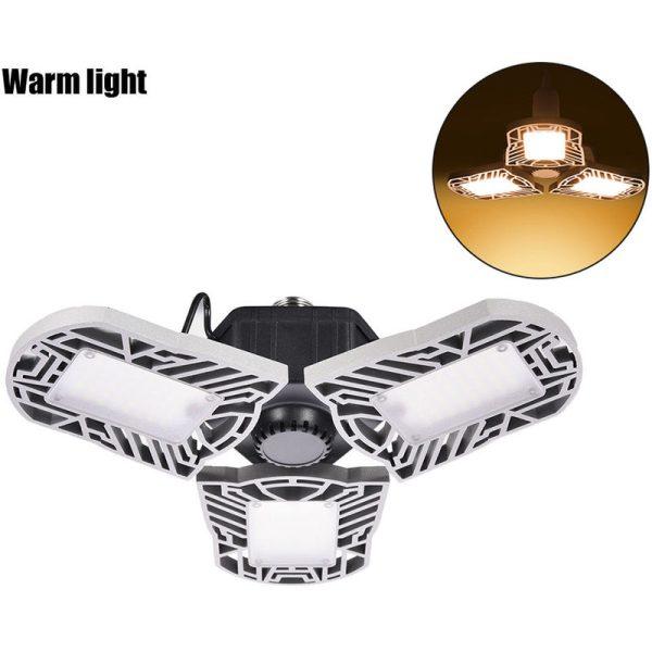 1 Piece LED Garage Light for Garages Warehouses Workshops LLDDE-ZG0006402 - Hommoo