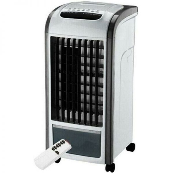 3.5L Air Cooler With Remote Control Cold Humidifying Fan Timer Water Tank Summer
