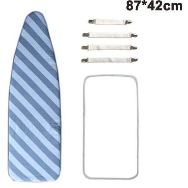 87 * 42 Ironing Board Cover & Cushion Scorch Resistant Stain Resistant Ironing Board Cover With Elastic Edges And Cushion