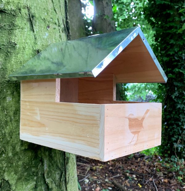 Blackbird Wooden Nesting Box