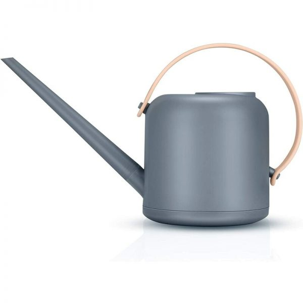 Bonsai Watering Can Pot, Removable Long Spout Watering Can Small Watering Can Kettle for Indoor and Outdoor (Gray)