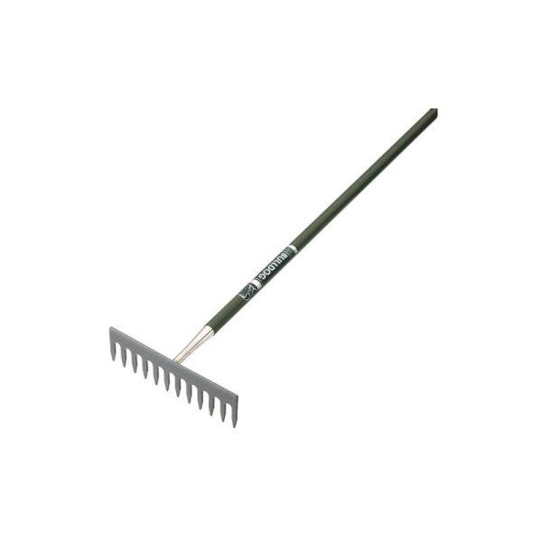 Bulldog 7106775480 Evergreen Garden Rake 12 Teeth 54' Metal Handle