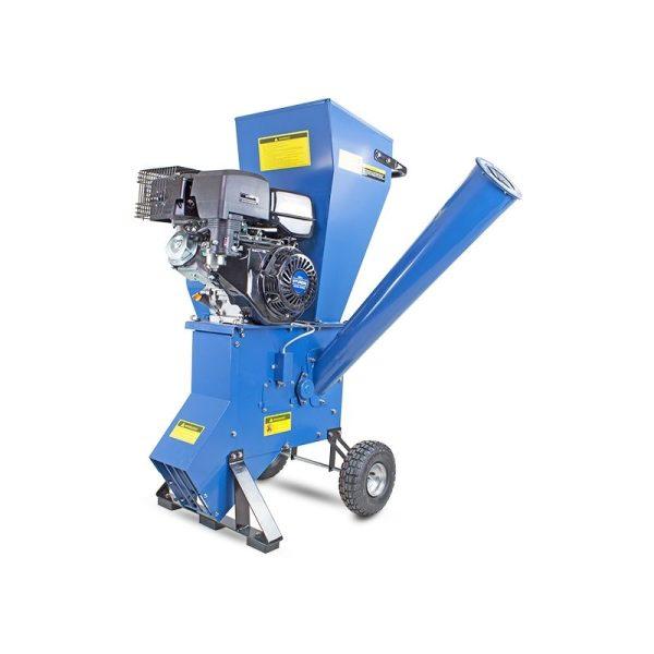 HYCH1400 420cc 102mm Petrol 4-Stroke Garden Wood Chipper Shredder Mulcher - Hyundai