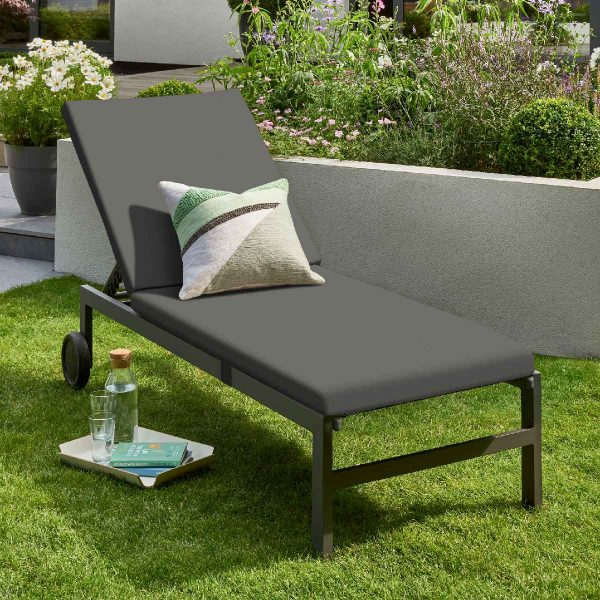 Handpicked Titchwell Sun Lounger - Grey