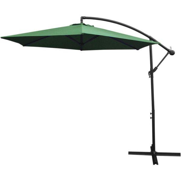 Monster Shop - Green Cantilever Parasol