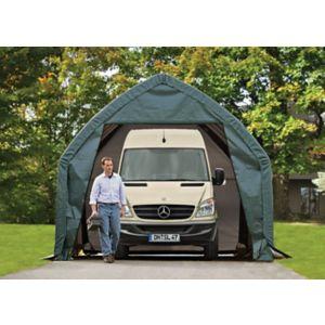 Shelterlogic 20X13 Shelterlogic Plastic Garage Green