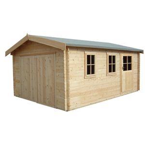 Shire 13X12 Bradenham Wooden Garage