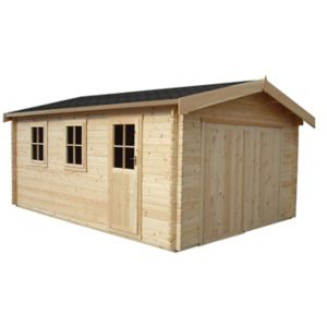 Shire 15X14 Bradenham Wooden Garage - Assembly Service Included