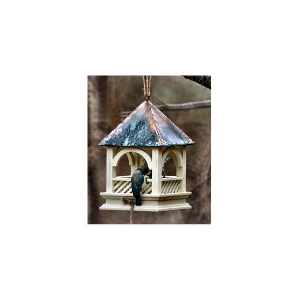 Wildlife World Bemton Hanging Bird Table (One Size) (Green)