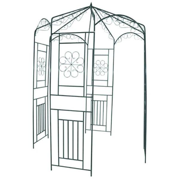 Zqyrlar - Garden Arch 250 cm Black - Black
