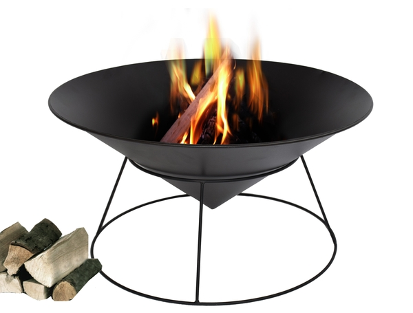 """54cm Cast Iron Fire Pit """"Kalama"""" - by La Fiesta"""