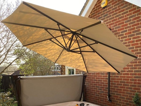 Canopy Only For Turino Wall Parasol   Beige