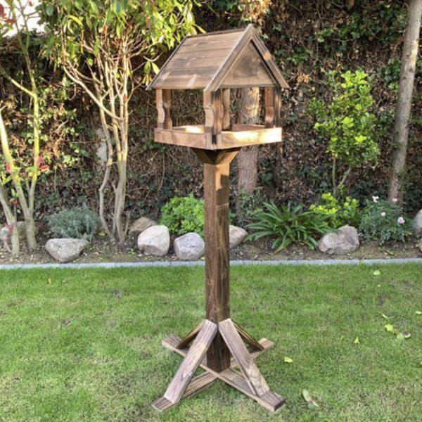 Gardenature Frinton Birch Plywood Bird Table