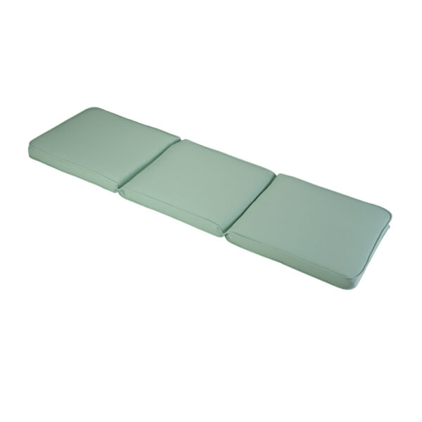 1.41m 3 Seater Garden Bench Cushion in Misty Jade