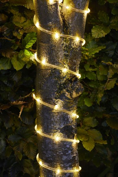 100 LED Solar Powered Rope Lights by Smart Garden
