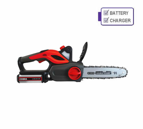 Cobra CS1024V 24v Chainsaw with Battery and Charger