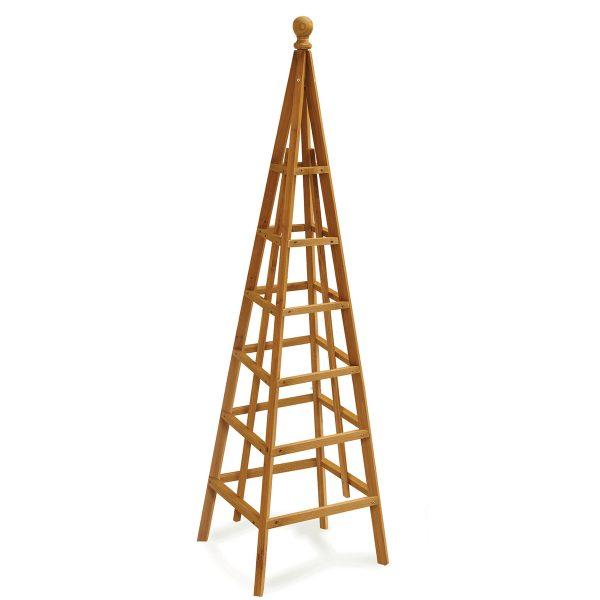 Smart Garden Woodland Obelisk Tan - 1.9m