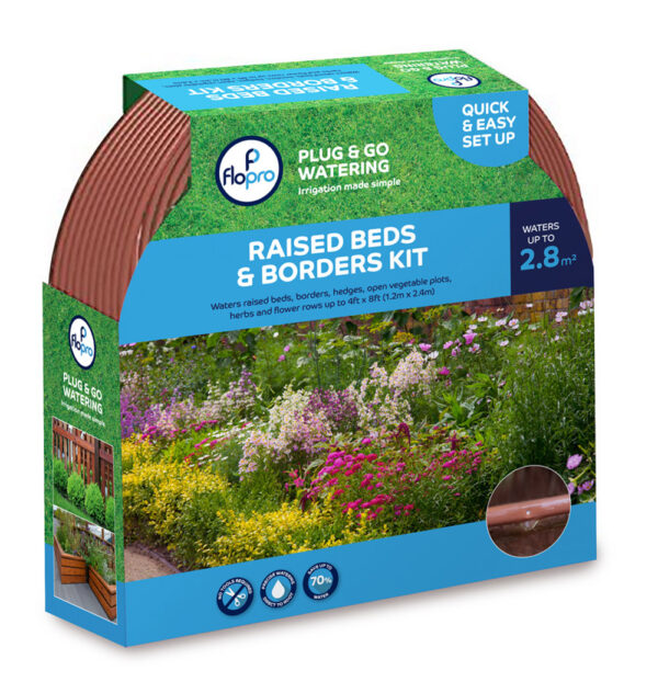 12m Flopro Beds & Borders Watering and Irrigation Kit