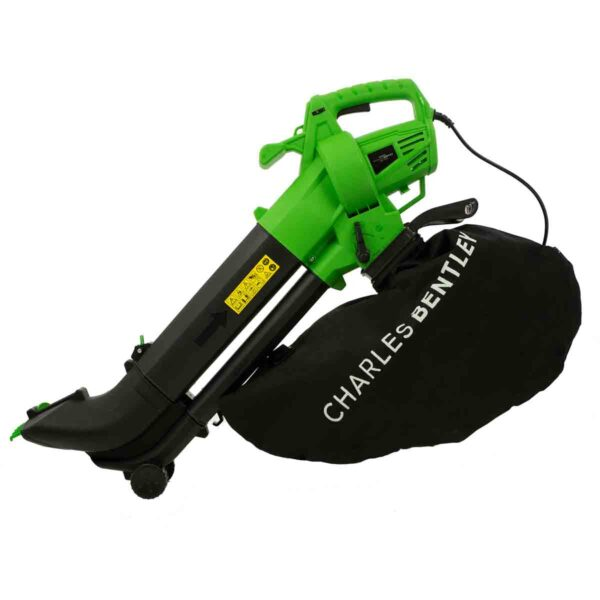 Charles Bentley Telescopic Electric Leaf Blower Vac with Variable Speed