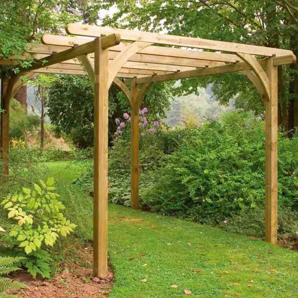 Forest Garden 2.4 x 2.4m Ultima Pergola