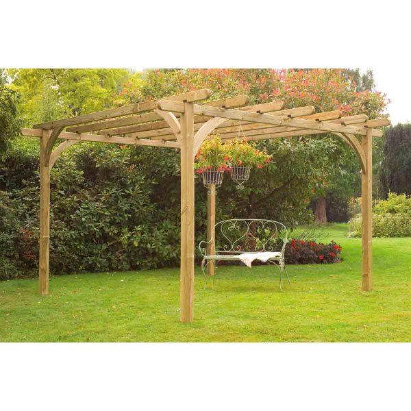Forest Garden 3.6 x 3.6m Ultima Pergola